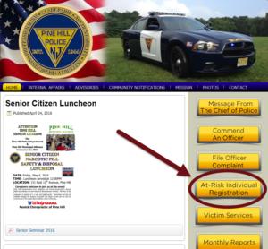 At Risk Website