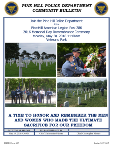 05.26.2016 Memorial Day Remembrance