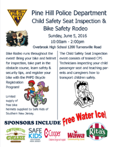 2016 bike rodeo cps flyer